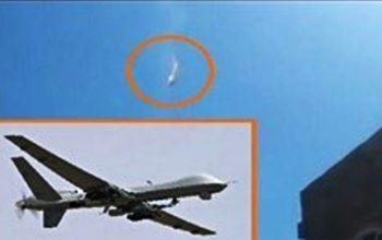 یک هواپیمای بدون سرنشین عربستان در مرز یمن سقوط کرد