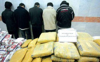 11 تن به جرم قاچاق مواد مخدر بازداشت شده اند