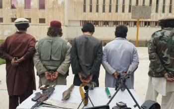 بازداشت یک گروه اختطافچیان در ولایت بغلان