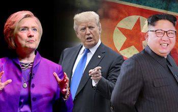 کلینتون: دونالد ترامپ توان مذاکره با رهبر کوریای شمالی را ندارد