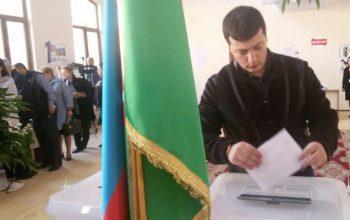 در اذربایجان انتخابات زودهنگام برگزار شد