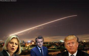 تجاوز آمریکا، فرانسه و انگلیس؛ حمایت از تروریستان در سوریه
