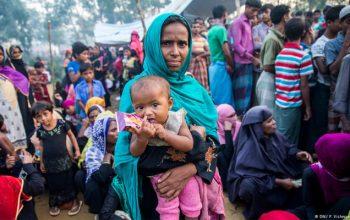 نخستین خانواده آوارگان روهینگیایی به میانمار بازگشت