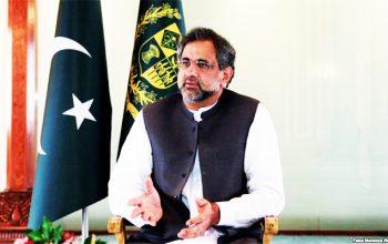 شاهدخاقان عباسی نخست وزیر پاکستان کابل میاید