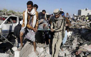 جنگندههای سعودی یک مراسم عروسی را در یمن هدف قرار دادند