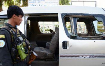 تیراندازی  بر یک موتر ولایت غور 10 کشته و زخمی بر جا گذاشت