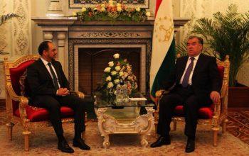 صلاح الدین ربانی با رییس جمهور و وزیر خارجه تاجیکستان روی مسائل مهم منطقه گفتگو کردند
