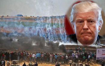 ترامپ مسئول کشتار فلسطینیها؛ آمریکا دشمن جهان اسلام است