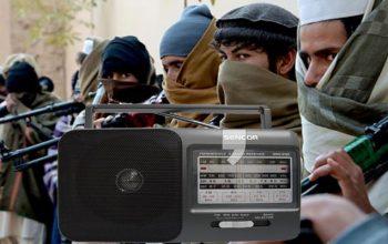 رادیو شریعت مربوط گروه تروریستی طالبان در غزنی به فعالیت آغاز کرد