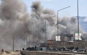 حمله تهاجمی بر دروازه ورودی وزارت داخله