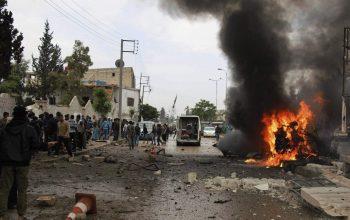 حمله انتحاری بر یک پوسته امنیتی در ولسوالی گرشک هلمند
