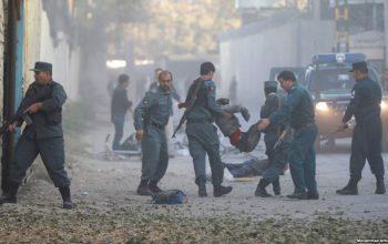 حمله به ساختمان جدید وزارت داخله با کشته شدن 10 مهاجم پایان یافت