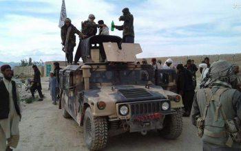 گروه تروریستی طالبان با سقوط بندر آی خانم تمامی تجهیزات نیروی امنیتی را با خود شان بردهاند