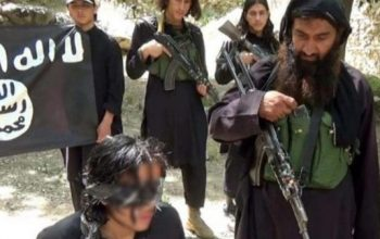 تروریستان داعش یک مرد را در جوزجان به اتهام جاسوسی به دولت سر بریدند
