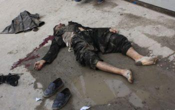 والی نام نهاد گروه تروریستی طالبان درلوگر کشته شد