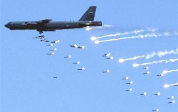 روسیه مواضع تروریستان در جنوب سوریه را بمباران کرد