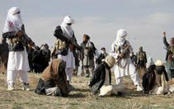 گروه تروریستی طالبان به کسانیکه خواهان تمدید آتشبس بودند تیر اندازی کردند