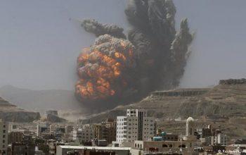 تشدید حملات جنگنده های سعودی بر میدان هوایی الحدیده یمن