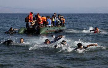 غرق شدن کشتی در سواحل تونس جان46 مهاجر غیرقانونی را گرفت