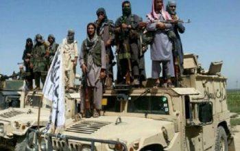 دها تانک نیروهای امنیتی در فاریاب به دست گروه تروریستی طالبان افتاده است