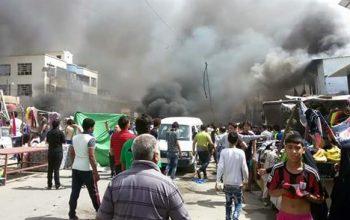انفجاری در پایتخت کشور عراق 106 کشته و زخمی برجا گذاشت