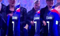 یکی از مدال های جام جهانی 2018 دزدیده شد