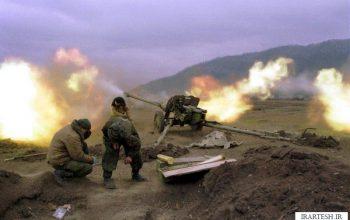 توپخانه ارتش یمن، کاروان تانک های سعودی را در جنوب عربستان منهدم کرد