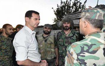 بشار اسد: کشورهای حامی تروریسم در پی تجدید دوباره تروریستان در سوریه
