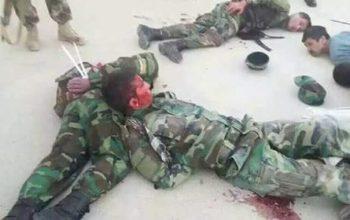 """امرالله صالح؛ کسانی که محافظان قیصاری را شکنجه می کند ملیشه متعلق به یکی از """"مقامات"""" است"""