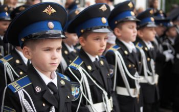 ادامه تحصیلات کودکان سوری در مکاتب نظامی روسیه