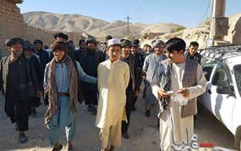 بشیر احمد 16 ساله که از سوی گروه طالبان مامور کارگزاری ماین شده بود باز داشت شد