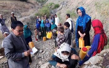 کمک ده میلیون پوندی بریتانیا به آسیب دیدگان خشکسالی در افغانستان