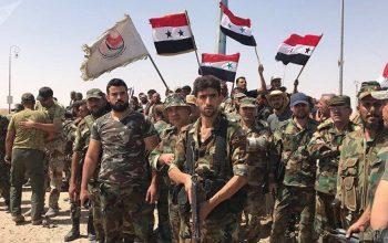 ارتش سوریه با نزدیک شدن به مزر اردن راه های مواصلاتی مخالفان را مسدود کرده اند