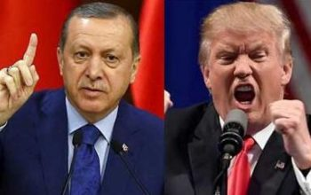 اردوغان: از تهدیدات آمریکا نمی هراسیم و عقب نشینی نمیکنیم