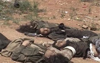 3 تروریست داعش در درگیری با گروه طالبان کشته شد