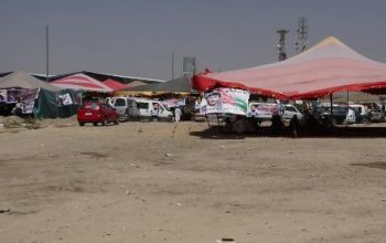 برداشتن خیمه های تحصن از مقابل درب کمیسیون انتخابات