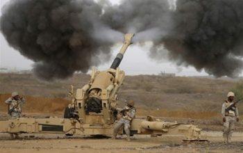 سازمان موشکی یمن پایگاه های نظامیان سعودی را هدف قرار داد