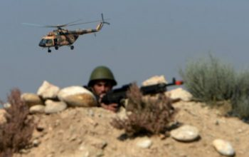 14 سرباز امنیتی در حمله هوایی ناتو در لوگر کشته شدند