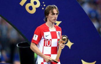 لوکا مودریچ مرد فوتبال سال 2018 شد