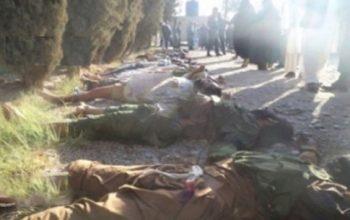 کشته و زخمی شدن 14 تروریست طالب در جوزجان