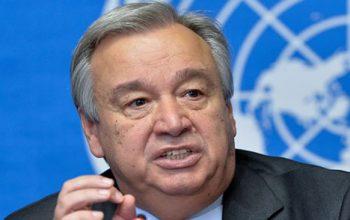 خواست گوترش از ایران و روسیه برای مهار کردن تروریستان در سوریه