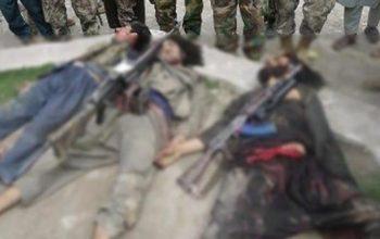 کشته زخمی شدن 5 تروریست طالبان در جوزجان