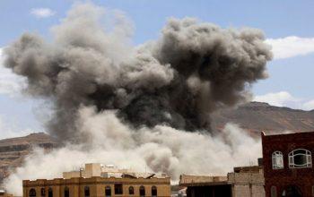 سعودی ها یک انبار مواد غذایی در یمن را هدف قرار دادند