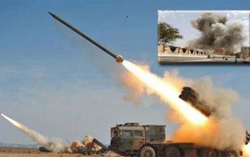 هدف قرار داد یک پایگاه ائتلاف سعودی توسط سازمان موشکی یمن