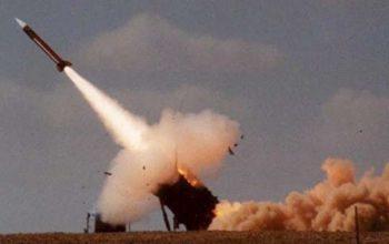 پایگاه متجاوزان سعودی هدف حمله موشک بالستیک یمن قرار گرفت