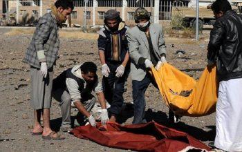 کشته و زخمی شده 13 تن از غیرنظامیان در حمله جنگنده های سعودی
