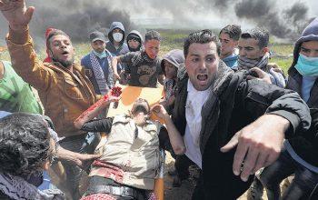 کشته و زخمی شدن بیش از 50 فلسطینی در گلوله باری رژیم اسرائیل