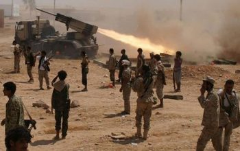 حملات هوایی و زمینی نیروهای یمنی بر مواضع سعودی ها