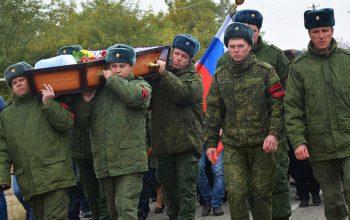122 سربازان روسی در 3 سال گذشته در سوره کشته شده است