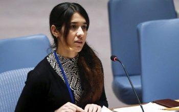 نادیا مراد، برنده جایزه صلح نوبل
